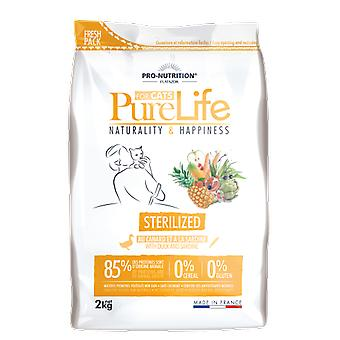 Flatazor Cat Food Pure Life Chat Sterilized (Cats , Cat Food , Dry Food)