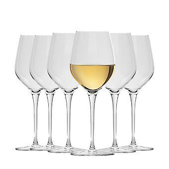 Bormioli Rocco Inalto Tre Sensi kleine Weingläser Set - 305ml - Packung mit 6