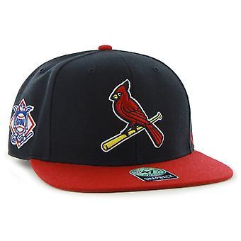 47 Brand Snapback Cap - SURE SHOT St. Louis Cardinals navy