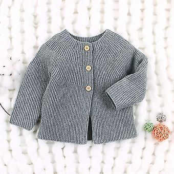 Spring & Autumn Baby Sweater, Cardigans Long Sleeve Newborn Knitted Jackets