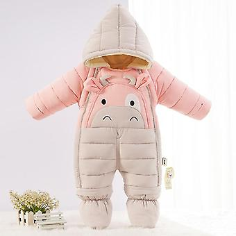 -30 Degrees Winter Overalls Jumpsuit Kids Girl Boy Snow Wear Cloths