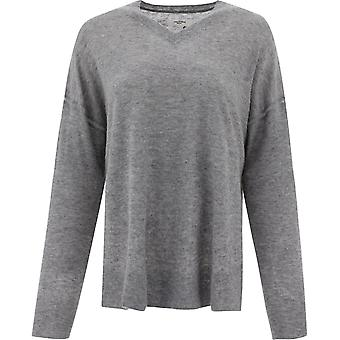 Isabel Marant ÉToile Pu063120a073e02gy Women's Grey Wool Sweater