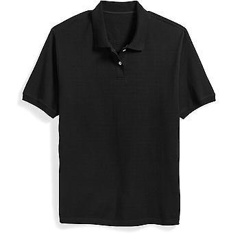 Essentials Men & apos&s Big & Tall Cotton Pique Polo Shirt الذي يناسب DXL, Black,...