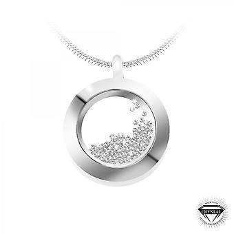 SoCharm orn runda halsband av Swarovski Kristaller