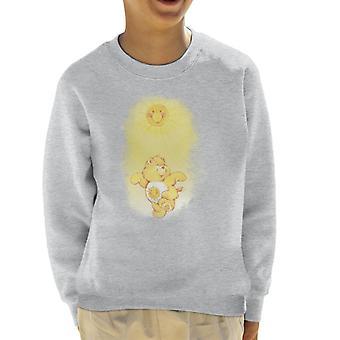 Pflege Bären Funshine Bär tanzen in der Sonne Kid's Sweatshirt