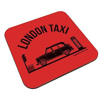 London Taxi Company TX4 At Traffic Lights Coaster