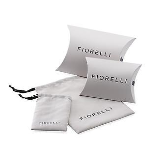 Fiorelli Fashion Imitatie Rhodium & Rose Gold Open Circle Ketting 93cm + 5cm