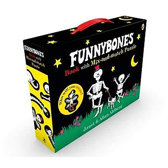 Funnybones book with mix-and-match puzzle (Funnybones)