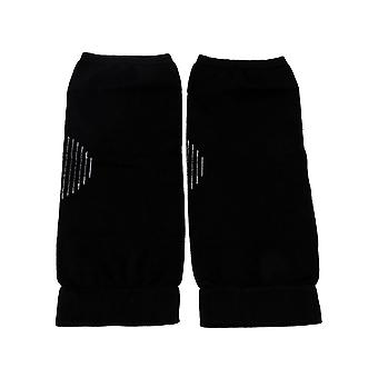2x Nylon Non-Slip Ultra-thin Knee Pads Support Brace Protector Black