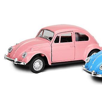 Vintage Beetle Car -malli lelu ja sisustus