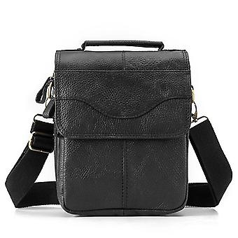 Original Leather Male Casual Shoulder Messenger Bag Cowhide Fashion Cross-body