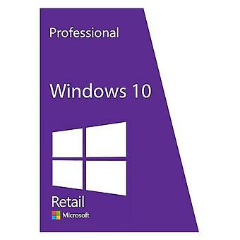 מפתח Windows 10 Pro, הפעלה מקוונת גלובלית, הפעלה קבועה, לכל החיים