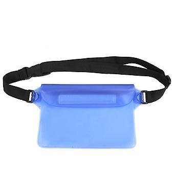 Vandtæt Swim Drift Dykning Taske Underwater Dry Skulder Talje Bælte Lomme Lomme