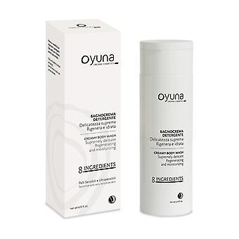 8 ingredients - cleansing cream bath 200 ml