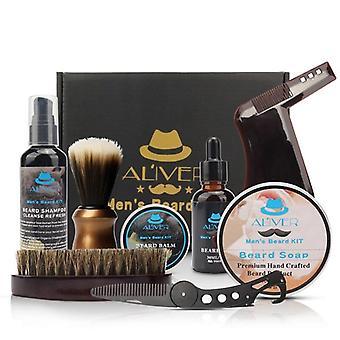 Kit de soins de la barbe, ensemble de coupe