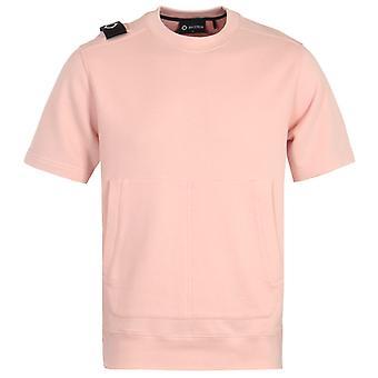 MA.Strum Core Short Sleeve Sweatshirt - Flesh