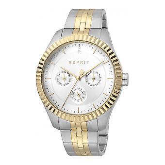 Esprit ES1L202M0105 Flute Silver Gold MB Women's Watch
