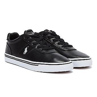 Sneakers Ralph Lauren Hanford heren zuiver zwart leer