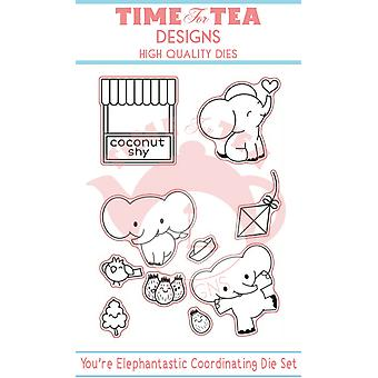 Time For Tea Elephantastic Dies