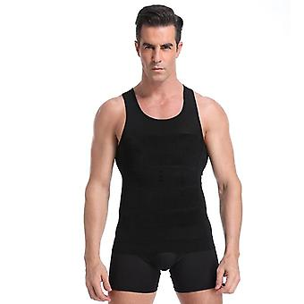 Men's Slimming Vest Body Shaper For Posture Gynecomastia Compression Shirt