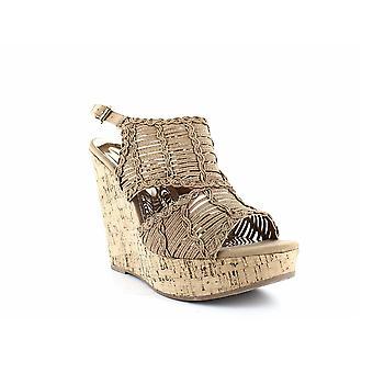 Carlos by Carlos Santana | Bellini Peep Toe Wedge Sandals