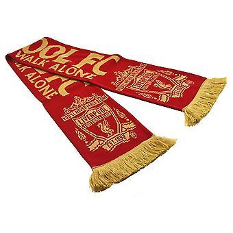 Liverpool FC Unisex Adulto você nunca anda sozinho Lenço de Inverno