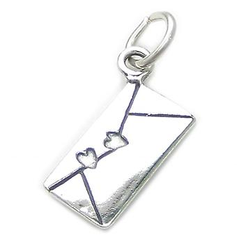Love Letter Sterling Silver Charm .925 X 1 Loving Letters Charms - 3232