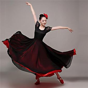 Spanish Belly Dance Costumes, Flamenco Skirt For Dancing Bullfight, Festival,