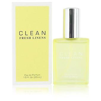 Clean Fresh Linens Eau De Parfum Spray By Clean 1 oz Eau De Parfum Spray