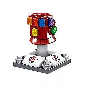 Rautamies gauntlet Hulk Thanos Spider-man hahmot estää rakentamisen