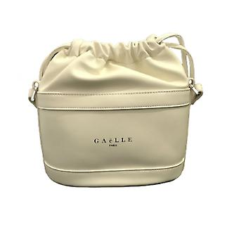 Bag Woman Gaëlle Shoulder Strap Bucket White Faux Leather Bs21ge10 Gbda2151