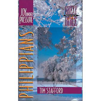 Philippians - Joy Under Pressure by Tim Stafford - 9780310498117 Book