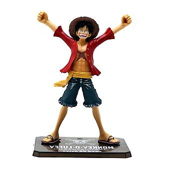 15cm One Piece Monkey D Luffy Pvc Action Figures Toy