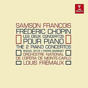 Chopin / Francois, Samson - Piano Concertos [CD] USA import