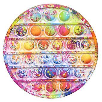 Stuff Certified® Pop It - Washed Fidget Anti Stress Toy Bubble Toy Silicone Round Graffiti