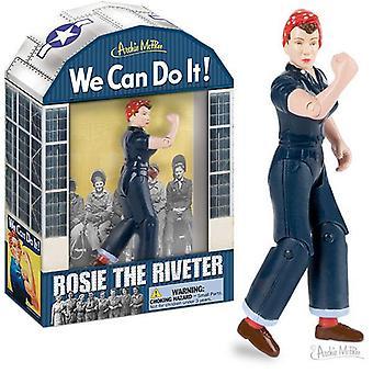 Archie mcphee - rosie de riveter actie figuur