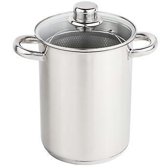 HI Asparagus Pot 4 L Silver