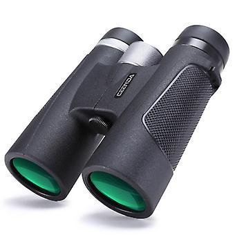 Powerful Adult Binoculars, 12x42 Powerful HD Binoculars with BAK4 Prism FMC Lens, Anti-fog and Waterproof, for Bird Watching, Camping, Hunting, Concerts, Hiking(Black)