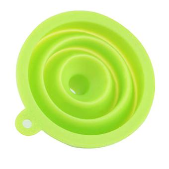 Embudo de estilo plegable de gel de silicona