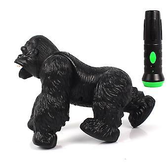 RC Orangutan rc Animal Remote Control Plastic Roar Sounding Creative LED Lights|RC Animals