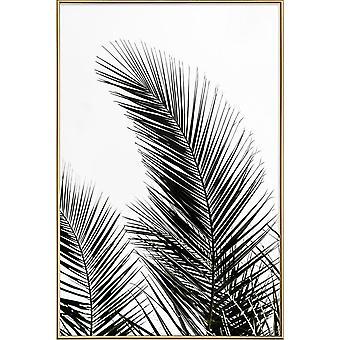 JUNIQE Print -  Palm Leaves 1 - Palmen Poster in Bunt