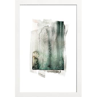 JUNIQE Print - Terrafirma - Abstrakt och geometrisk affisch i brunt och grått