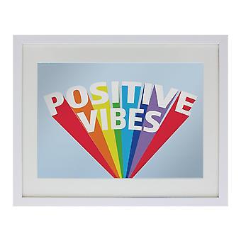Grindstore إيجابية المشاعر معكوسة لوحة