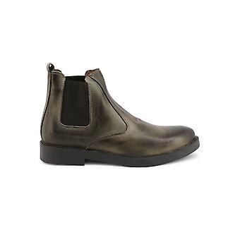 Duca di Morrone - Shoes - Ankle Boots - 100-CRUST-GRIGIO - Men - gray - EU 42
