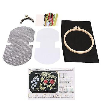 For 8.5cm Frame Width Hand Embroidery Kits for Girls Gift WS3276