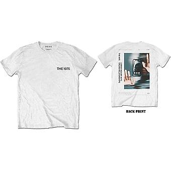 The 1975 - ABIIOR Side Face Time Men's Large T-Shirt - White