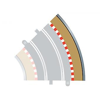 Radius 2 Curve Outer Borders 45° (Set Of 4) Scalextric Accessory Pack
