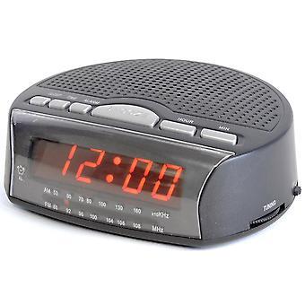 Lloytron J2006BK Denný budík Rádio UK Plug