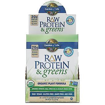 Garden of Life Rå Protein og Grønne, Vanilla 1 Bakke