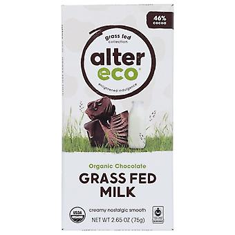 Alter Eco Choc Milk Grass Fed, Case of 12 X 2.65 Oz